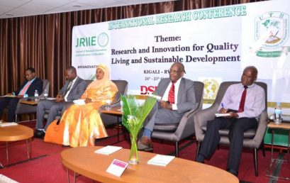 UTB Hosted JRIIE International Research Conference in Kigali